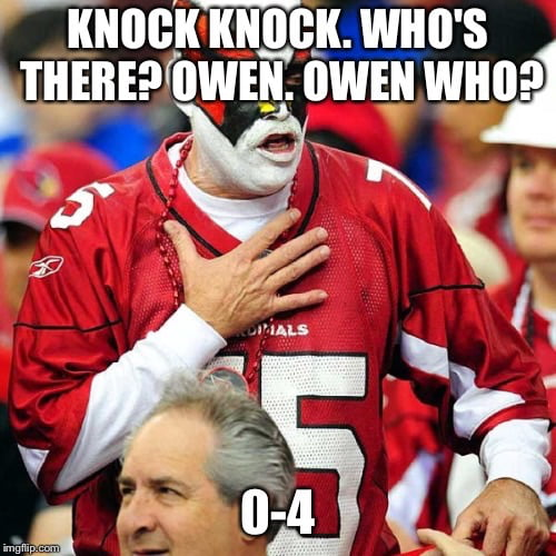 Arizona Cardinals Are The New Cleveland Browns 9gag