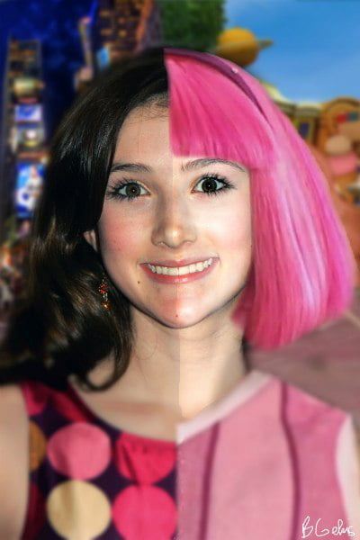 Stephanie naked lazy town fake