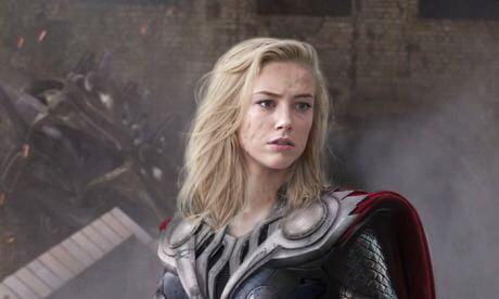 Female version of Avengers