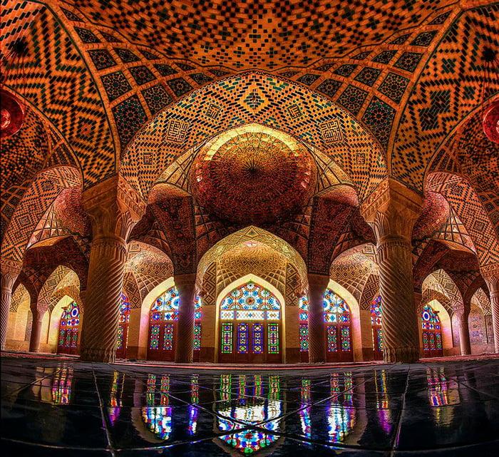 Iranian Mosque, our prayer area inside