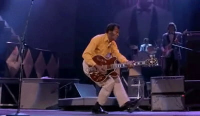 If you had to give Rock 'n' Roll another name, you might call it Chuck Berry - RIP