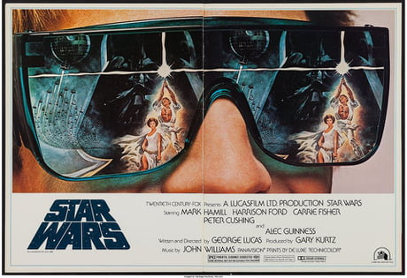FOX Promo Poster for Star Wars, 1982 Re-Release