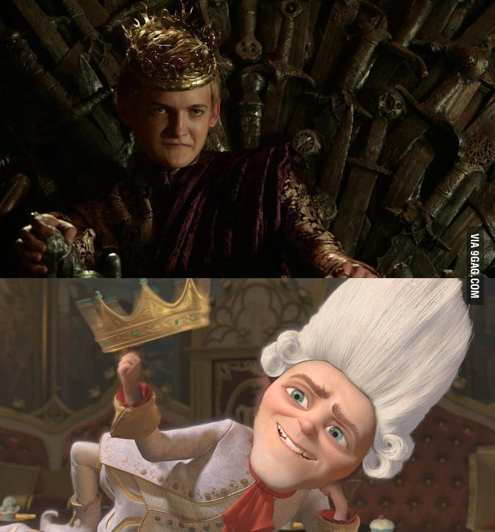 Another Shrek Vs Game Of Thrones - 9GAG