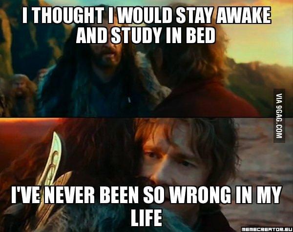 During testweek