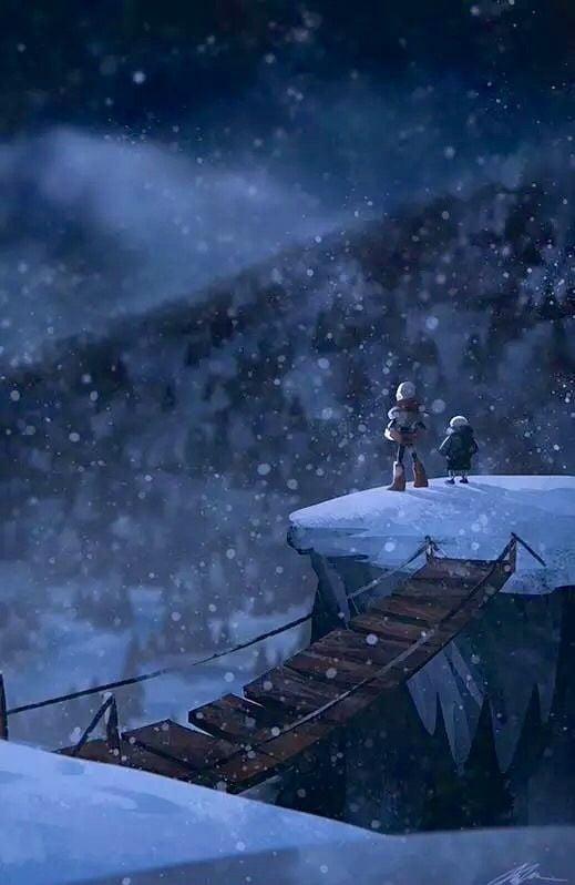 Over snowdin [Undertale] - 9GAG