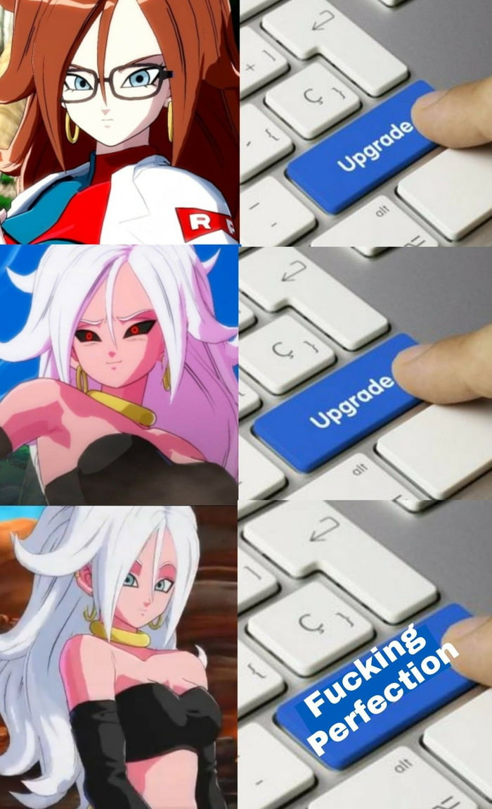Android Anime Porn gotta love majin android 21 - 9gag