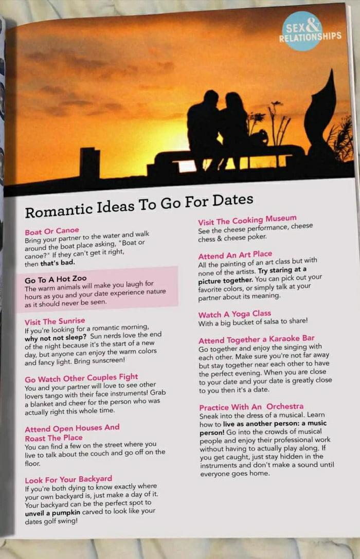 The dating song lyrics