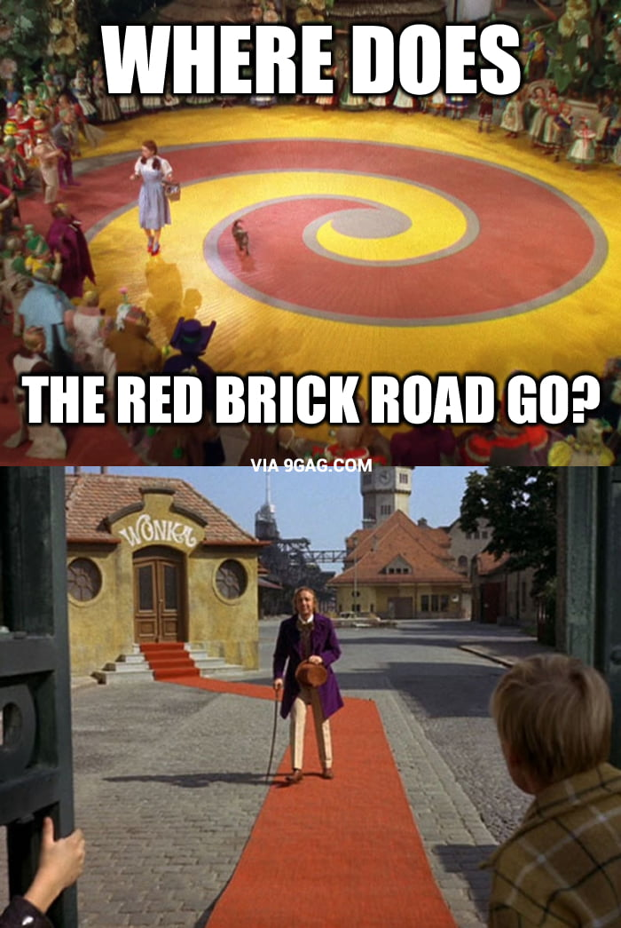 Where Does Great Bacon Come From The Accidental Wino: Mystery Solved: Where Does The Red Brick Road Go