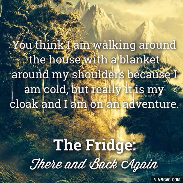 The Fridge: There and Back Again