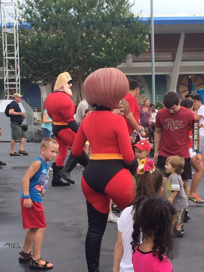 Nudist mrs incredible