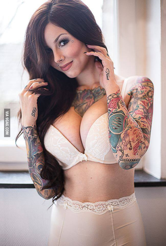 big boobs tattoos and redhead all in one 9gag