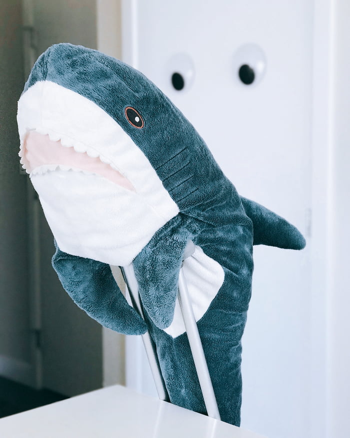 People Are Obsessed With This Plush Shark From Ikea 9gag