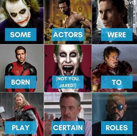 Who is your perfect actor?