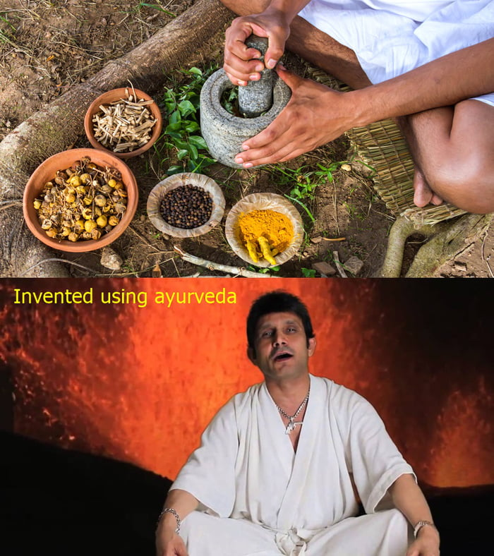 An Indian Ayurveda specialist has created an special Ayurvedic