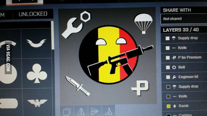 My emblem on BF4! :D - 9GAG