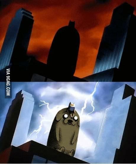 It's Bat... nope