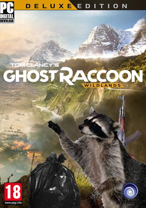 Tom Clancy's Ghost Recon/Raccoon - 9GAG