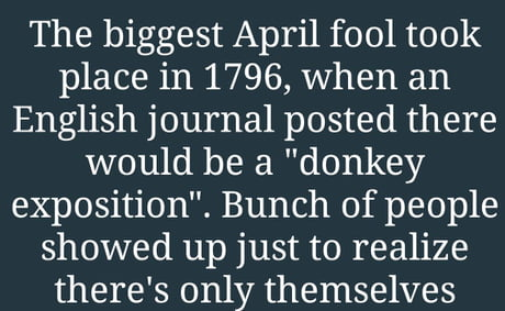 Image result for april fool history