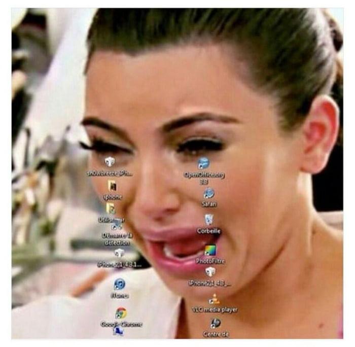 Rate my wallpaper 9gag - Kim kardashian crying collage ...