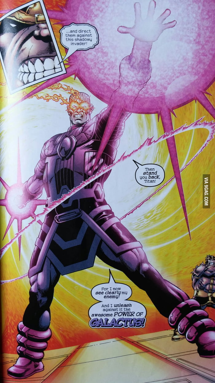 Galactus Without His Helmet 9gag