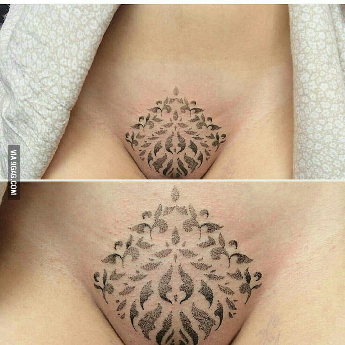 Would you get a vag. tattoo for $100 and a cheeseburger? (pic is not ...