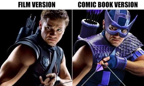 (MCU) characters in their original costumes