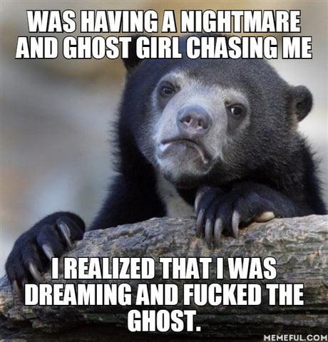 Happened last night...