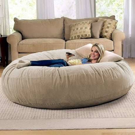 Strange This Giant Cocoon Bean Bag Chair Is The Perfect Place To Pdpeps Interior Chair Design Pdpepsorg