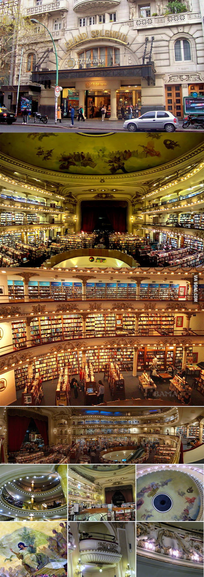 An Extraordinary Bookstore In Buenos Aires, Argentina