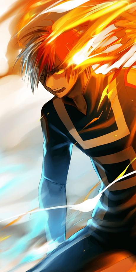 Boku No Hero Academia Shoto Todoroki 9gag