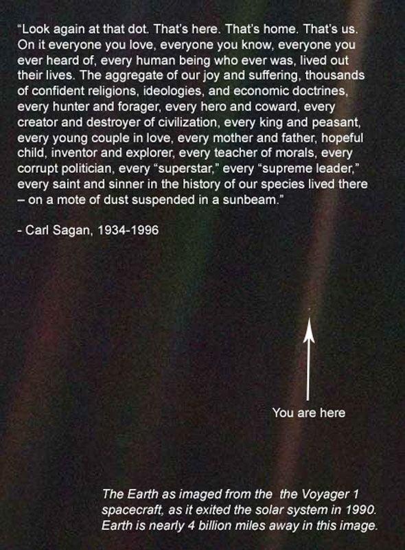Kinda Love This From Carl Sagan 60GAG Impressive Carl Sagan Love