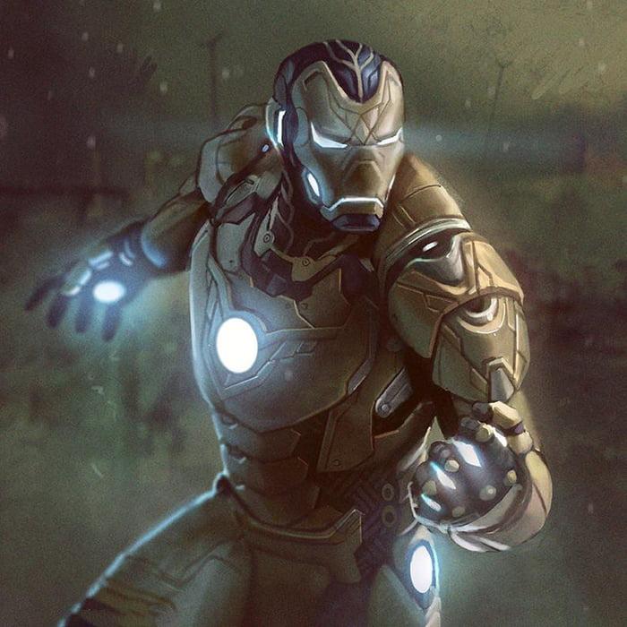 Iron Man Fan Art - 9GAG