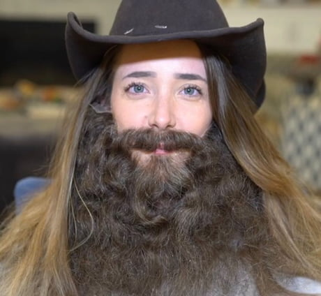Arthur Morgan After Taking Hair Tonic For The First Time 1899