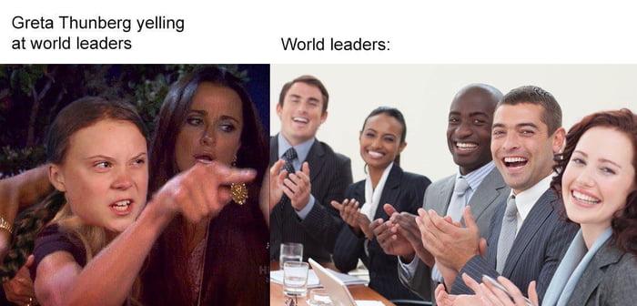 I love the Greta Thunberg Memes. - 9GAG