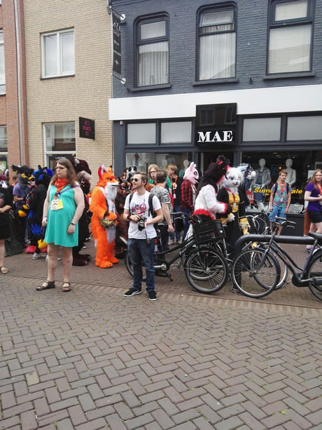 Today there was a furry convention in my town... f**king furries wtf they doing here?!