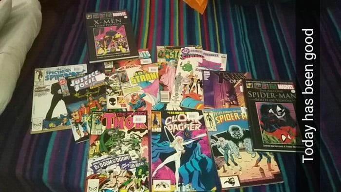 Thought I'd share my recent comic haul.