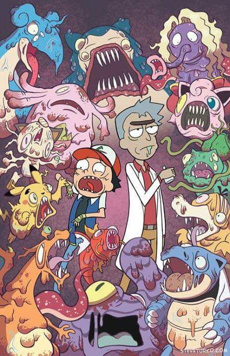 Rick And Morty Pokemon Wallpaper For You Youre Welcome