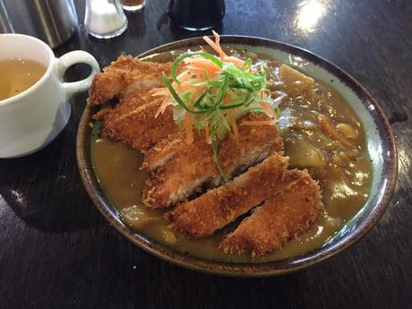 Katsu Chicken Curry Donburi