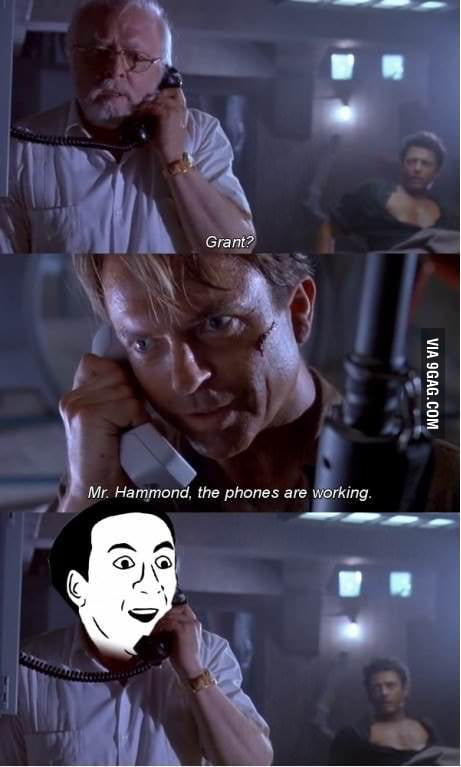 Phones are working!