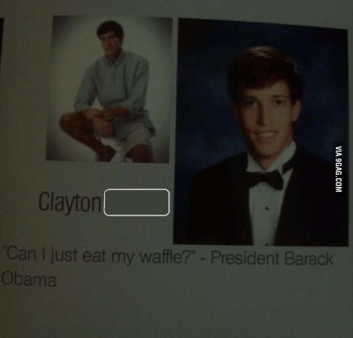 One of the more inspirational senior quotes this year - 9GAG