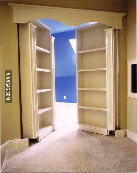 Good Ahhmazing Secret Room Idea!