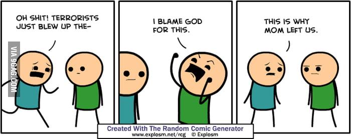 Random Comic Generator from Cyanide and Happiness - 9GAG
