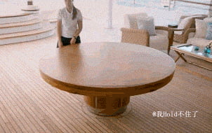 Amazing dinner table