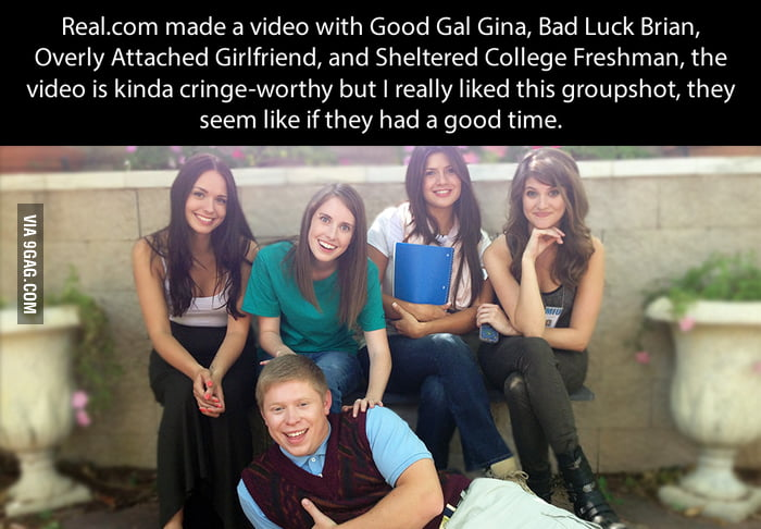 good gal gina bad luck brian overly attached girlfriend