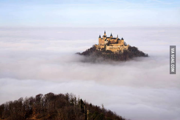 Hohenzollern Castle and the big Dipper - Miscellaneous - Digital ...