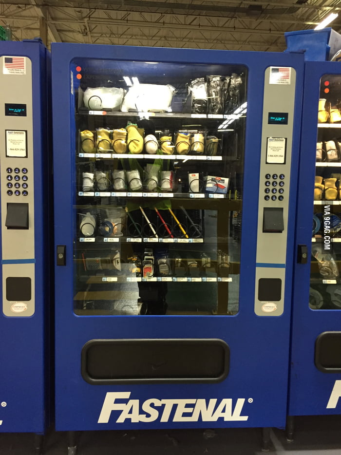 1db7fdf622c1 I saw your vending machine and raise you, this fastenal vending machine.  Filled with