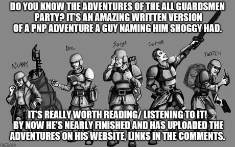 One of the best 40k stories I know about - 9GAG