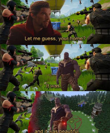 Fortnite Aint Got Shit On Minecraft Hunger Games 9gag
