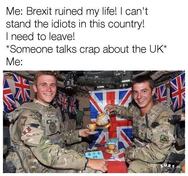 I'm half English, I can post this.