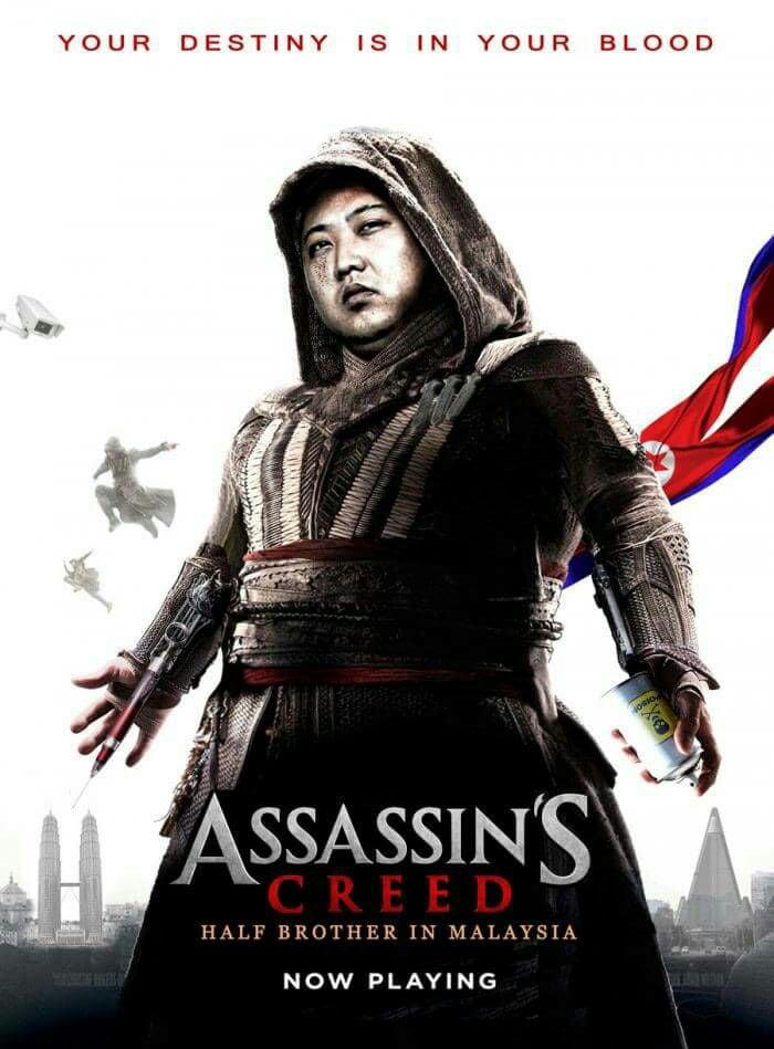 Assassin Creed North Korea Edition 9gag